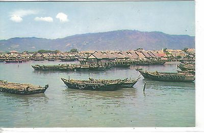 Atap Huts in Weld Quay-Penang Other Collectible Postcards - 1