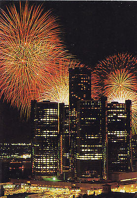 Detroit Michigan Freedom Festival Postcard - Cakcollectibles - 1