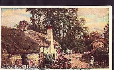 English Thatch-Roof Cottage UDB - Cakcollectibles