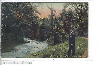 Scene in Wade Park-Cleveland,Ohio 1910 - Cakcollectibles