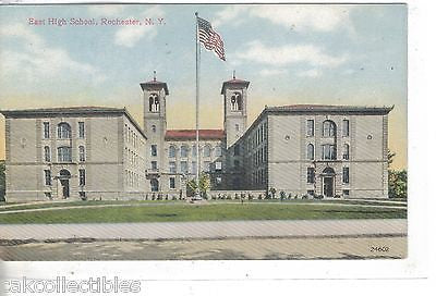 East High School-Rochester,New York - Cakcollectibles