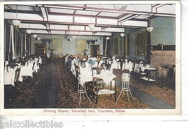 Dining Room,Taunton Inn-Taunton,Massachusetts - Cakcollectibles