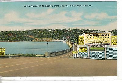 South Approach to Bagnell Dam-Lake of The Ozarks,Missouri - Cakcollectibles