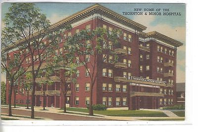 New Home of The Thornton & Minor Hospital-Kansas City,Missouri - Cakcollectibles