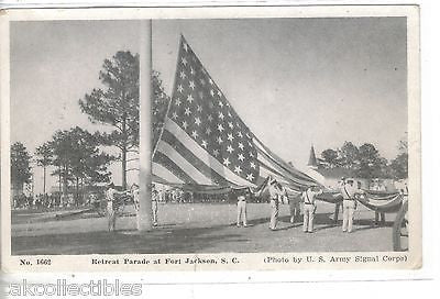 Retreat Parade at Fort Jackson,South Carolina - Cakcollectibles
