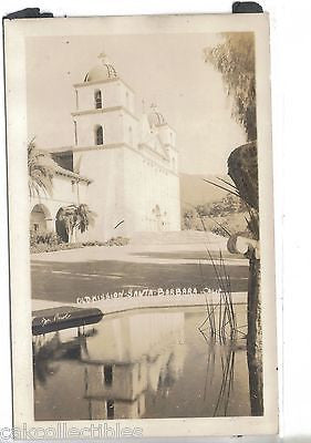 RPPC-Old Mission-Santa Barbara,California - Cakcollectibles - 1