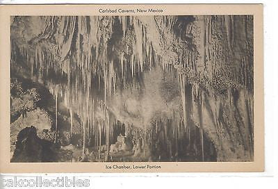 Ice Chamber,Lower Portion-Carlsbad Caverns,New Mexico - Cakcollectibles