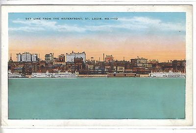 Skyline from The Waterfront-St. Louis,Missouri - Cakcollectibles