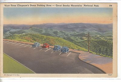 View from Clingman's Dome Parking Area-Great Smoky Mountains National Park - Cakcollectibles