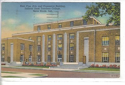 New Fine Arts and Commerce Building,Indiana State Teachers College-Terre Haute - Cakcollectibles