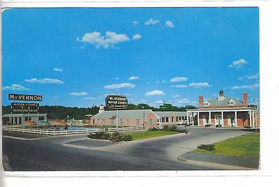 Mt. Vernon Motor Courts-Austin,Texas 1956 - Cakcollectibles