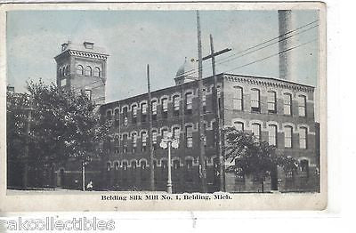 Belding Silk Mill No.1-Belding,Michigan - Cakcollectibles - 1