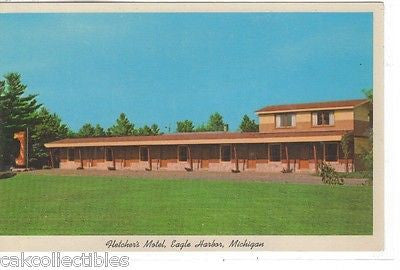 Fletcher's Motel & Fine Foods-Eagle Harbor,Michigan - Cakcollectibles - 1