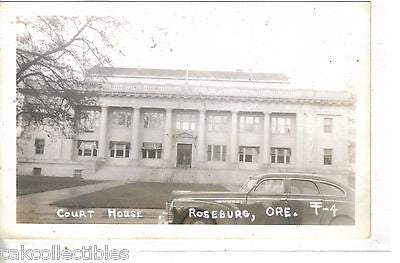 RPPC-Court House-Roseburg,Oregon - Cakcollectibles - 1