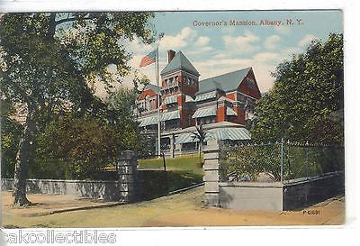 Governor's Mansion-Albany,New York 1913 - Cakcollectibles