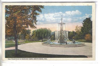The Fountain in Howard Park-South Bend,Indiana - Cakcollectibles