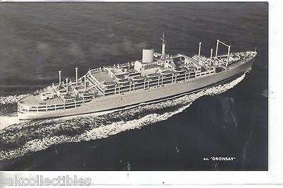 "RPPC-Orient Liner S.S. ""Oronsay"" - Cakcollectibles"