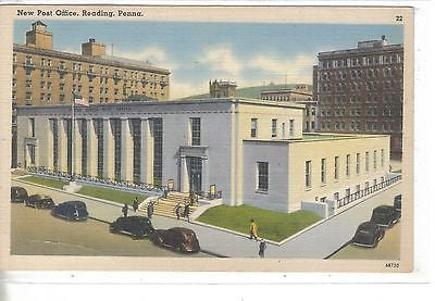 New Post Office-Reading,Pennsylvania - Cakcollectibles