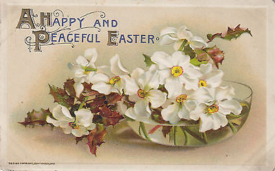 """A Happy And Peaceful Easter"" John Winsch Postcard Front"