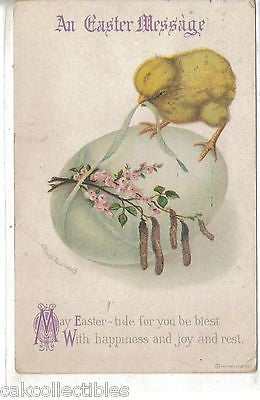 An Easter Message-Chick on Egg -Clappsaddle - Cakcollectibles - 1
