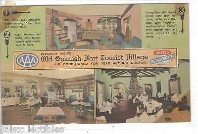 Old Spanish Fort Tourist Village-Mobile,Alabama - Cakcollectibles