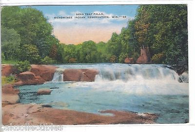 Bear Trap Falls-Menominee Indian Reservation-Wisconsin - Cakcollectibles