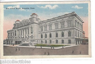 New Union Depot-Memphis,Tennessee 1916 - Cakcollectibles