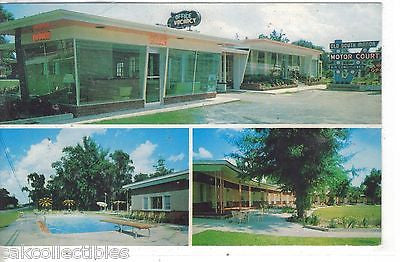 Old South Manor Motor Court and Restaurant-Savannah,Georgia 1964 - Cakcollectibles