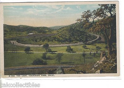 The Loop,Tehachapi Pass-California  Fred Harvey - Cakcollectibles - 1