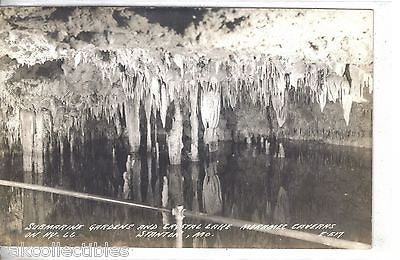 RPPC-Submarine Gardens and Crystal Lake,Merramec Caverns-Stanton,Mo. - Cakcollectibles - 1