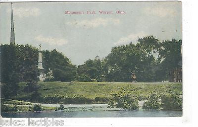 Monument Park-Warren,Ohio - Cakcollectibles