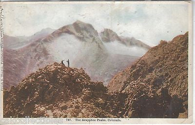 The Arapahoe Peaks-Colorado 1908 - Cakcollectibles