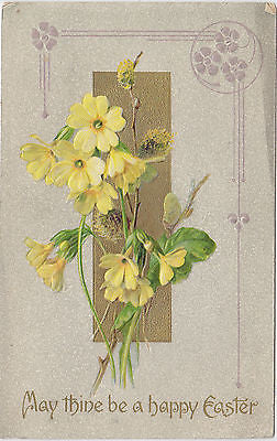 May Thine Be A Happy Easter John Winsch Postcard - Cakcollectibles