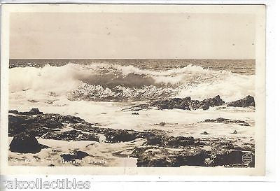 RPPC-Surf-Hawaiian Islands - Cakcollectibles - 1