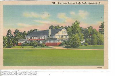 Benvenue Country Club-Rocky Mount,North Carolina 1943 - Cakcollectibles