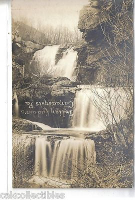 RPPC-Indian Ladders-Canadensis,Pennsylvania - Cakcollectibles