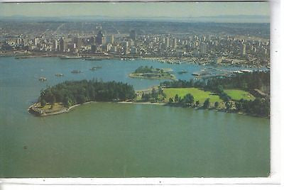 Brockton Point Aerial and Cancouver Waterfront, Vancouver, B.C., Canada - Cakcollectibles