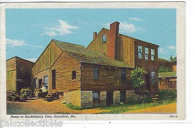 Home of Huckleberry Finn-Hannibal,Missouri - Cakcollectibles