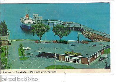 Bluenose at Bar Harbor-Yarmouth Ferry Terminal-Maine - Cakcollectibles