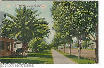 American Avenue-Long Beach,Caifornia - Cakcollectibles