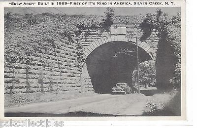 """Skew Arch"",First of It's Kind in America-Silver Creek,New York - Cakcollectibles - 1"