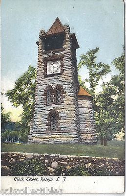 Clock Tower-Roslyn,Long Island,New York UDB - Cakcollectibles