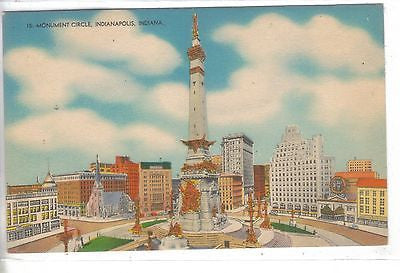 Monument Circle-Indianapolis,Indiana - Cakcollectibles