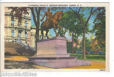 General Phillip H. Sheridan Monument-Albany,New York - Cakcollectibles