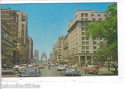 Juarez Avenue and The Revolution Monument-Mexico City,Mexico - Cakcollectibles - 1