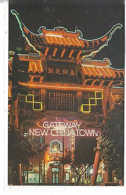 Chinatown at Night, Los Angeles, California - Cakcollectibles
