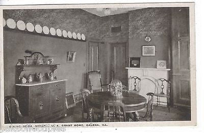 Dining Room,General U.S. Grant Home-Galena,Illinois - Cakcollectibles