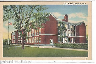 High School-Marietta,Ohio - Cakcollectibles