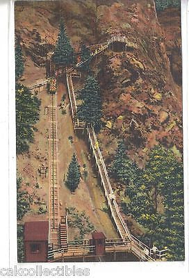 The Eagle Nest Observation Point & Incline Railway,Seven Falls-Colorado - Cakcollectibles