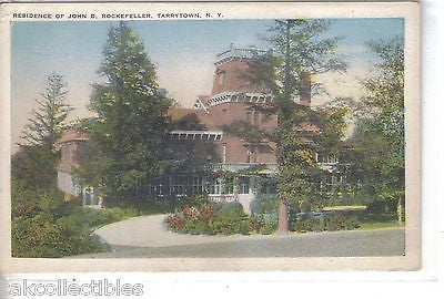 Residence of John D. Rockefeller-Tarrytown,New York - Cakcollectibles